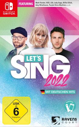 Let's Sing 2022 mit deutschen Hits (German Edition)