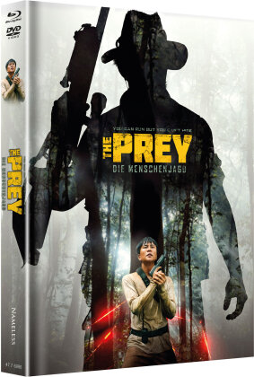 The Prey - Die Menschenjagd (2018) (Cover A, Edizione Limitata, Mediabook, Blu-ray + DVD)