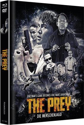 The Prey - Die Menschenjagd (2018) (Cover B, Edizione Limitata, Mediabook, Blu-ray + DVD)