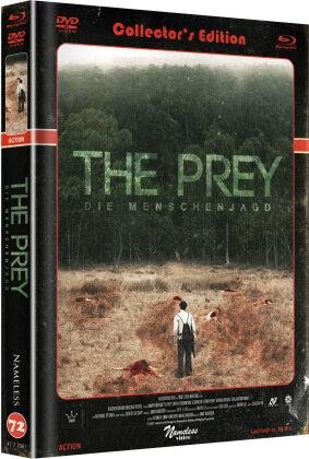 The Prey - Die Menschenjagd (2018) (Cover C, Edizione Limitata, Mediabook, Blu-ray + DVD)