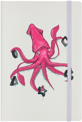 Squid Game - Challenge (Cream A5 Hard Cover Notebook)