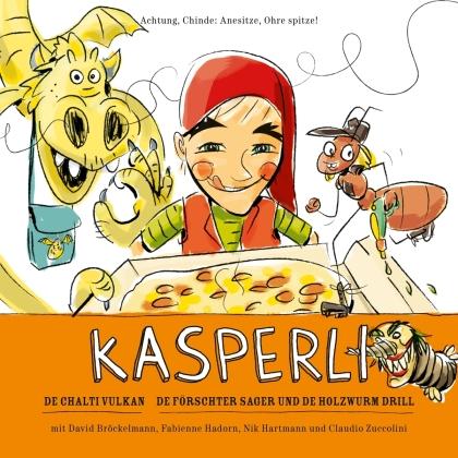 Kasperli - De chalti Vulkan/De Förschter Sager