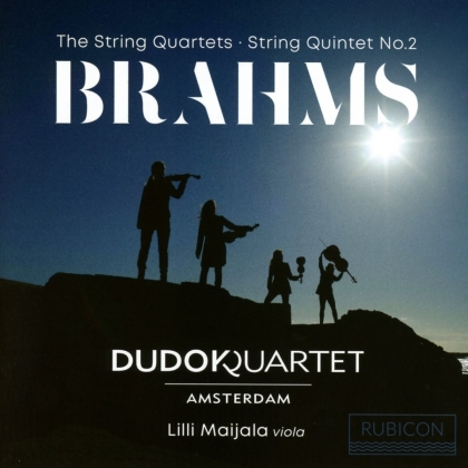 Dudok Quartet Amsterdam & Johannes Brahms (1833-1897) - The String Quartets / String Quintet No. 2 (2 CDs)