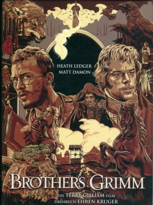 Brothers Grimm (2005) (Cover C, Limited Edition, Mediabook, Blu-ray + DVD)