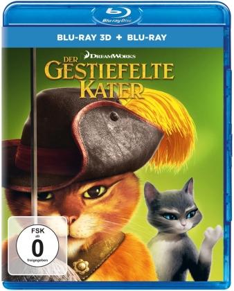 Der gestiefelte Kater (2011) (Blu-ray 3D + Blu-ray)