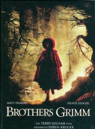 Brothers Grimm (2005) (Cover B, Limited Edition, Mediabook, Blu-ray + DVD)