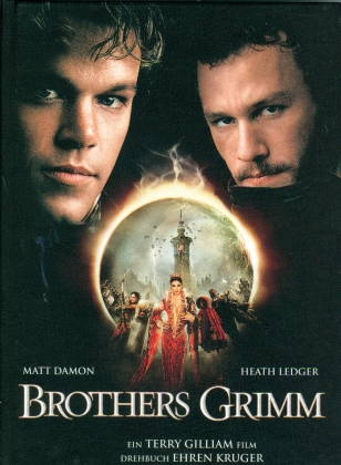 Brothers Grimm (2005) (Cover A, Limited Edition, Mediabook, Blu-ray + DVD)