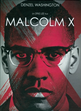 Malcolm X (1992) (Cover A, Limited Edition, Mediabook, Blu-ray + DVD)