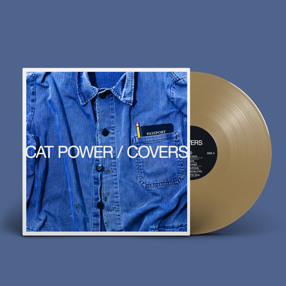 Cat Power - Covers (Indies Only, Limited Edition, Gold Colored Vinyl, LP + Digital Copy)