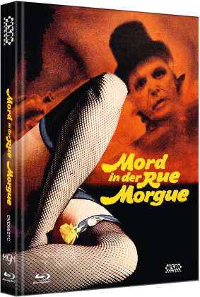 Mord in der Rue Morgue (1971) (Cover C, Limited Edition, Mediabook, Blu-ray + DVD)