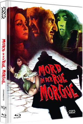 Mord in der Rue Morgue (1971) (Cover D, Limited Edition, Mediabook, Blu-ray + DVD)