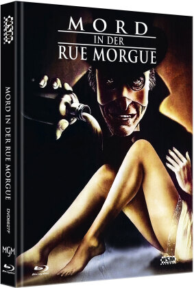 Mord in der Rue Morgue (1971) (Cover F, Limited Edition, Mediabook, Blu-ray + DVD)
