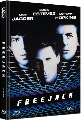 Freejack (1992) (Cover A, Limited Edition, Mediabook, Blu-ray + DVD)