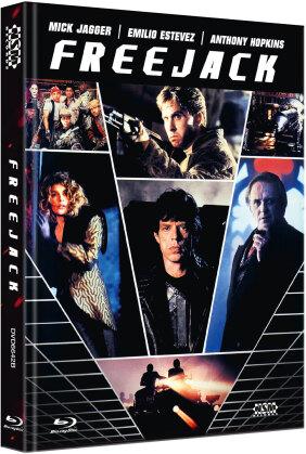 Freejack (1992) (Cover B, Limited Edition, Mediabook, Blu-ray + DVD)