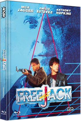 Freejack (1992) (Cover C, Limited Edition, Mediabook, Blu-ray + DVD)