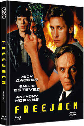 Freejack (1992) (Cover D, Limited Edition, Mediabook, Blu-ray + DVD)