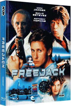 Freejack (1992) (Cover F, Limited Edition, Mediabook, Blu-ray + DVD)