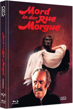 Mord in der Rue Morgue (1971) (Cover A, Limited Edition, Mediabook, Blu-ray + DVD)