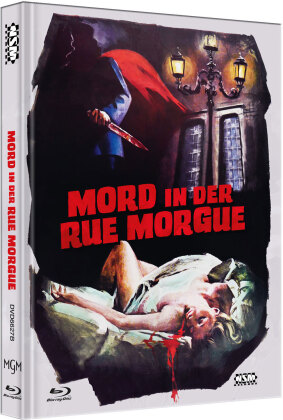 Mord in der Rue Morgue (1971) (Cover B, Limited Edition, Mediabook, Blu-ray + DVD)