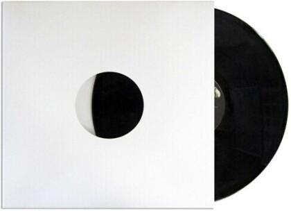 Bu Slpjhw 12 Inch Record Jacket W/Hole 10Pk White