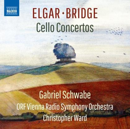 Sir Edward Elgar (1857-1934), Frank Bridge (1879-1941), Christopher Ward, Gabriel Schwabe & ORF Vienna Radio Symphony Orchestra - Cello Concertos