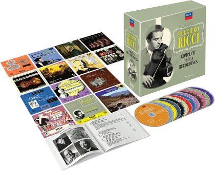 Ruggiero Ricci - Complete Decca Recordings (Eloquence Australia, 20 CDs)