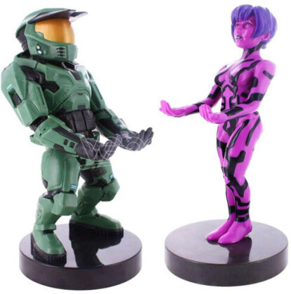 Cable Guy - Halo 20th Anniversary Twin Pack incl 2m Ladekabel + Cortana