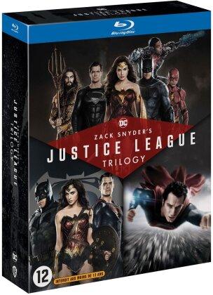 Zack Snyder's Justice League Trilogy - Man of Steel / Batman v Superman : L'aube de la justice / Zack Snyder's Justice League (4 Blu-ray)