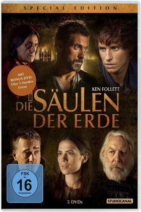 Die Säulen der Erde (Special Edition, 5 DVDs)