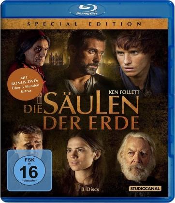 Die Säulen der Erde (Special Edition, 3 Blu-rays)