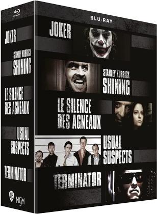 Joker / Shining / Le silence des agneaux / Usual Suspects / Terminator (5 Blu-rays)