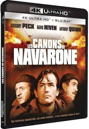 Les Canons de Navarone (1961) (4K Ultra HD + Blu-ray)