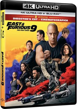 Fast & Furious 9 - The Fast Saga (2021) (Director's Cut, Cinema Version, 4K Ultra HD + Blu-ray)