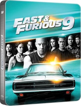 Fast & Furious 9 - The Fast Saga (2021) (Steelbook, 4K Ultra HD + Blu-ray)