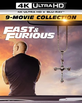 Fast & Furious 1-9 - 9-Movie Collection (9 4K Ultra HDs + 9 Blu-rays)