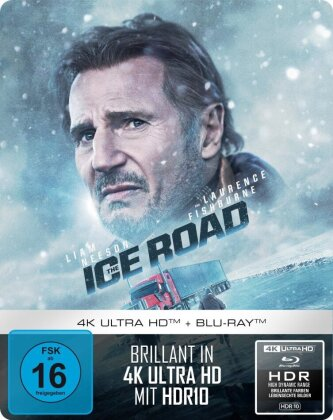 The Ice Road (2021) (Limited Edition, Steelbox, 4K Ultra HD + Blu-ray)