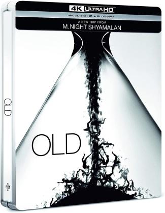 Old (2021) (Steelbook, 4K Ultra HD + Blu-ray)