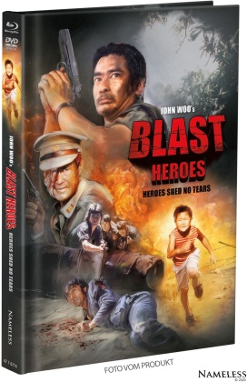 Blast Heroes - Heroes shed no tears (1984) (Cover A, Limited Edition, Mediabook, Blu-ray + DVD)
