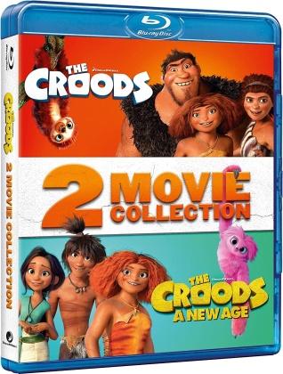 I Croods + I Croods 2 - 2 Movie Collection (2 Blu-rays)