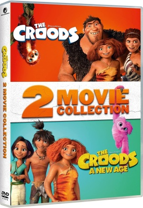 I Croods + I Croods 2 - 2 Movie Collection (2 DVDs)