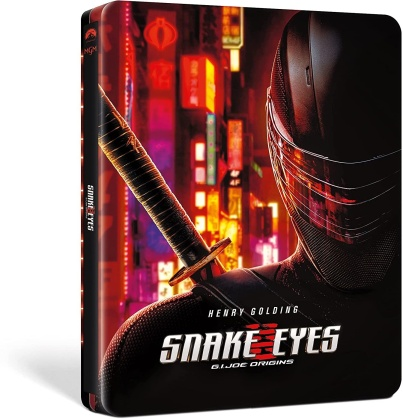Snake Eyes - G.I. Joe - Le origini (2021) (Steelbook, 4K Ultra HD + Blu-ray)
