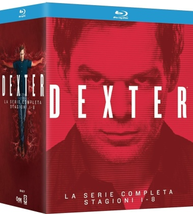 Dexter Collection - Stagioni 1-8 (Riedizione, 32 Blu-ray)