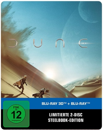 Dune - Part 1 (2021) (Limited Edition, Steelbook, Blu-ray 3D + Blu-ray)