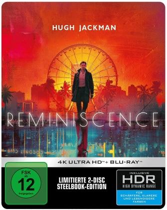 Reminiscence - Die Erinnerung stirbt nie (2021) (Limited Edition, Steelbook, 4K Ultra HD + Blu-ray)