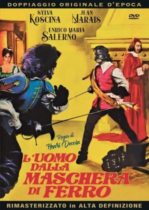 L'uomo dalla maschera di ferro (1962) (Doppiaggio Originale D'epoca, HD-Remastered)