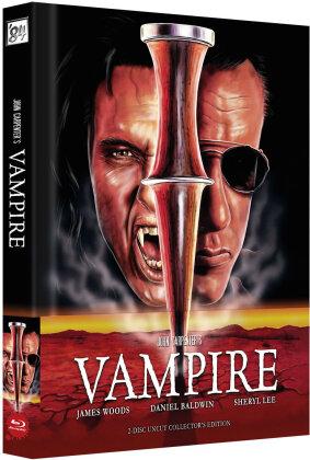 John Carpenters Vampire (1998) (Cover A, Wattiert, Édition Limitée, Mediabook, Blu-ray + DVD)