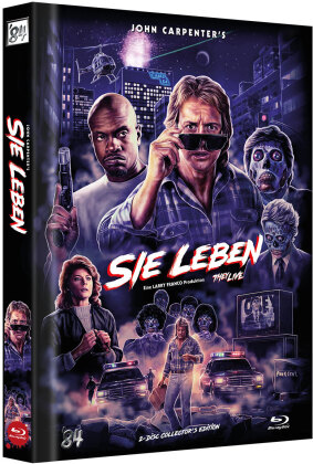 Sie leben (1988) (Cover D, Limited Collector's Edition, Mediabook, 2 Blu-rays)
