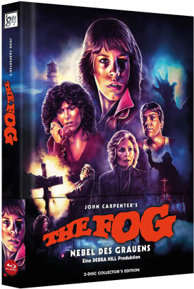 The Fog - Nebel des Grauens (1980) (Cover A, Wattiert, Limited Edition, Mediabook, 2 Blu-rays)