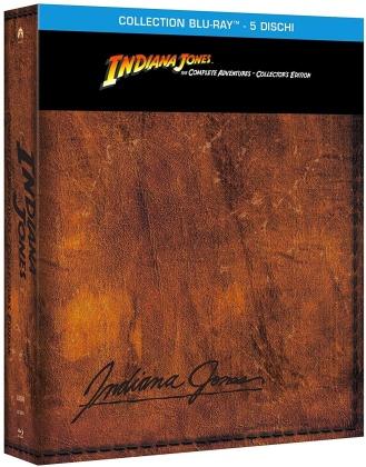 Indiana Jones - The Complete Adventure (Collector's Edition, Riedizione, 5 Blu-ray)