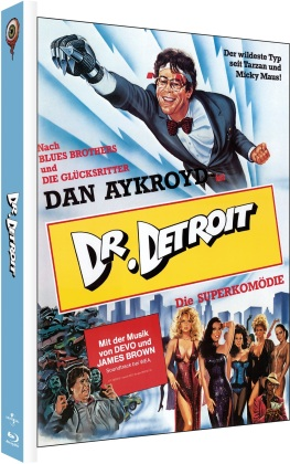 Dr. Detroit (1983) (Cover A, Limited Edition, Mediabook, Blu-ray + DVD)